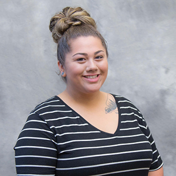The Tulalip Tribes' Betty J. Taylor Early Learning Academy staff member Angelica Jones-Robinson, Teacher Assistant.