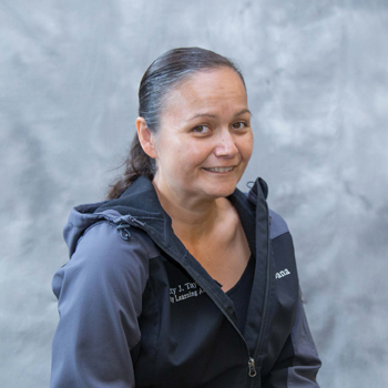 The Tulalip Tribes' Betty J. Taylor Early Learning Academy staff member Dana Jones, Teacher Assistant.