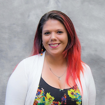 The Tulalip Tribes' Betty J. Taylor Early Learning Academy staff member Shoshanna Haskett, Preschool Teacher.