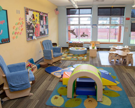 Betty J. Taylor Early Learning Academy official site - Birth to 3 room image.